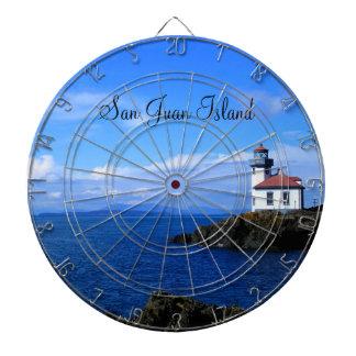 Lime Kiln Lighthouse Dart Board