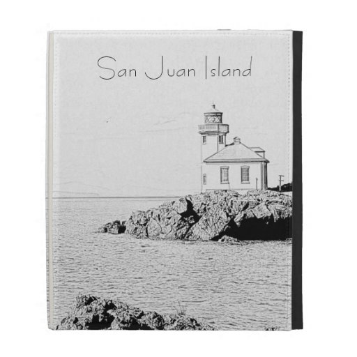 Lime Kiln Lighthouse iPad Cases