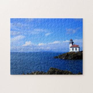Lime Kiln Lighthouse Jigsaw Puzzle