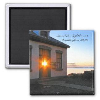 Lime Kiln Lighthouse Magnet
