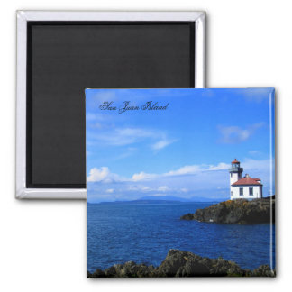 Lime Kiln Lighthouse Fridge Magnet