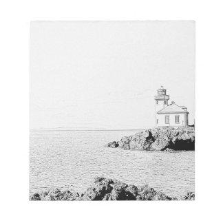 Lime Kiln Lighthouse Memo Note Pad