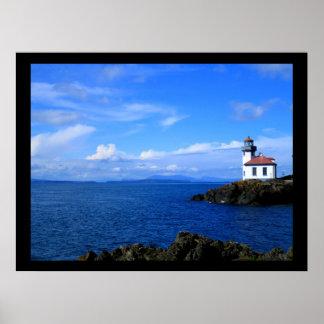 Lime Kiln Lighthouse Print