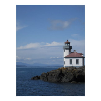 Lime Kiln Lighthouse Poster
