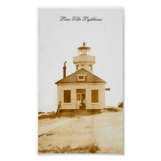 Lime Kiln Lighthouse Posters
