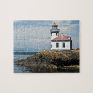 Lime Kiln Lighthouse, Washington Jigsaw Puzzle