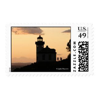 Lime Kiln Sunset Postage Stamps