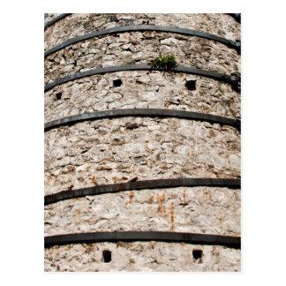 Lime kiln walls postcard
