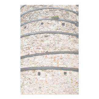 Lime kiln walls customized stationery