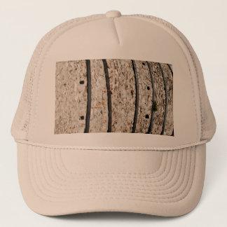 Lime kiln walls trucker hat