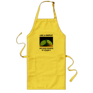 Lime & Kiwifruit Are Good Sources Of Vitamin C Long Apron