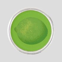 Lime Lapel Pin