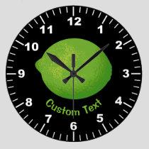 Lime Large Clock
