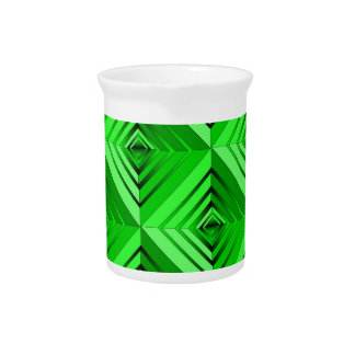 Lime Layers Beverage Pitcher