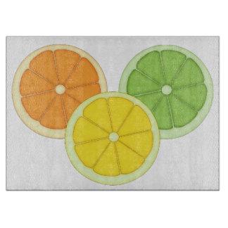 Lime, Lemon and Orange Cutting Board