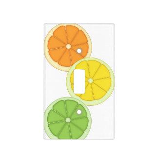 Lime, Lemon and Orange Light Switch Cover