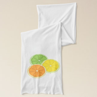 Lime, Lemon and Orange Scarf