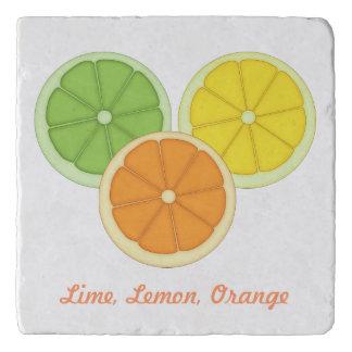 Lime, Lemon and Orange Trivet