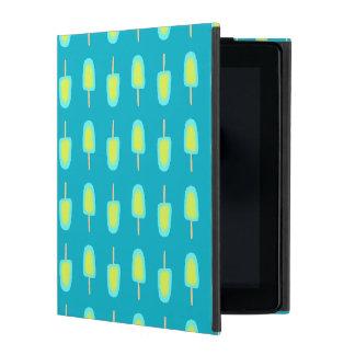 Lime Lemon Popsicles Watercolor (Customize Color) iPad Cover