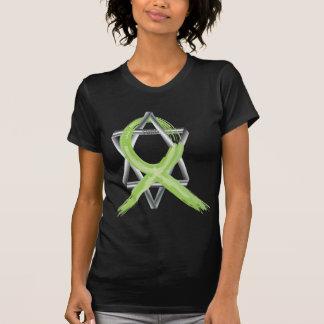 Lime Lymphoma Cancer Survivor Ribbon T-Shirt