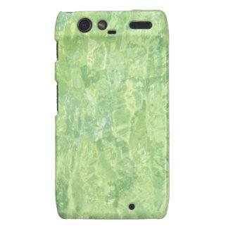 Lime Marble Effect Motorola Droid RAZR Cover