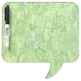 Lime Marble Effect Dry-Erase Board