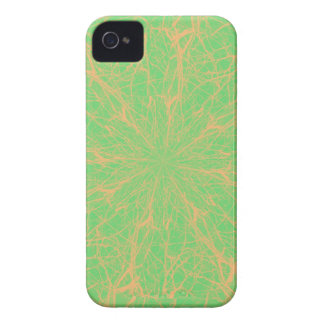 Lime Maze iPhone 4 Case