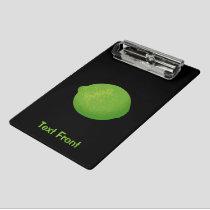 Lime Mini Clipboard