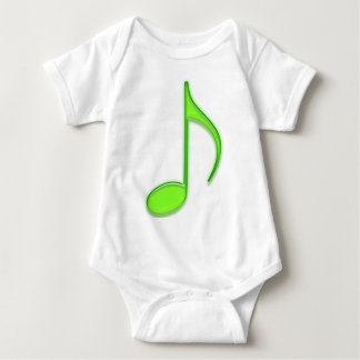 Lime Music Note T-shirt