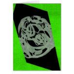 Lime Orgin Greeting Card