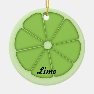 Lime Ornament
