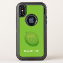 Lime OtterBox Defender iPhone X Case