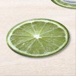 """Lime Paper Coasters<br><div class=""""desc"""">Lime</div>"""