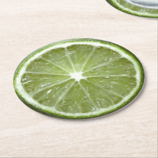 Lime Paper Coasters