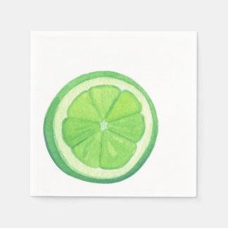 Lime - Paper Napkins