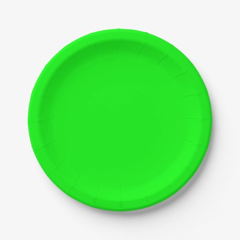Lime Paper Plates