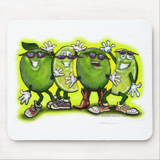 Lime Party Mouse Pad