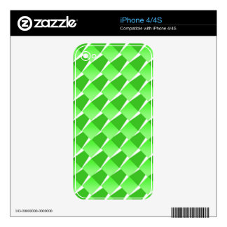 Lime Pattern Decal For The iPhone 4