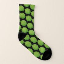 Lime Pattern Socks