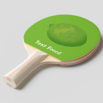 Lime Ping Pong Paddle