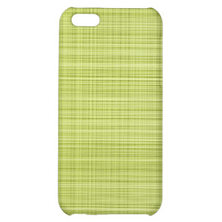 Lime Plaid Case Cover For iPhone 5C