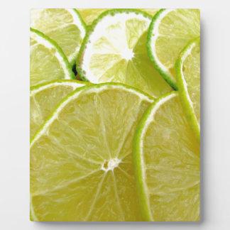 Lime Plaque