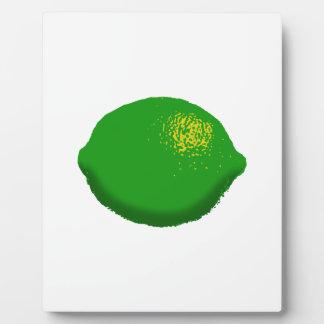 Lime: Plaque