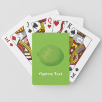 Lime Playing Cards
