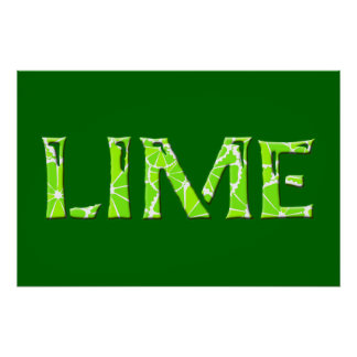 Lime Posters