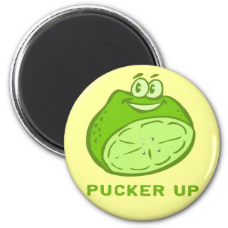 Lime - Pucker Up! Magnet