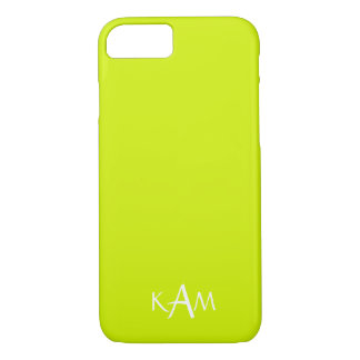 Lime Punch - Spring 2018 London Fashion Trends iPhone 8/7 Case
