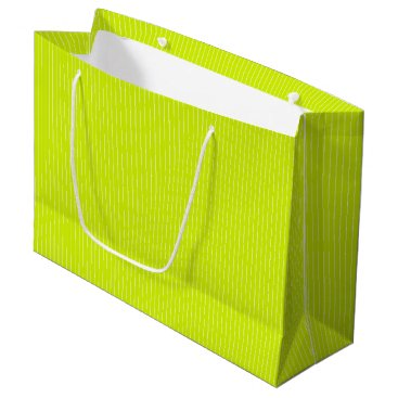Beach Themed Lime Punch - Spring 2018 London Fashion Trends Large Gift Bag
