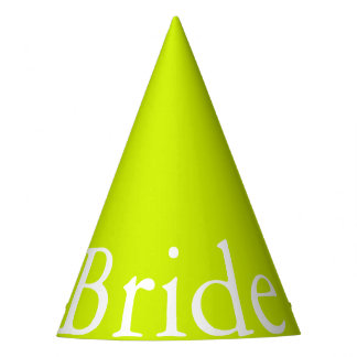 Lime Punch - Spring 2018 London Fashion Trends Party Hat