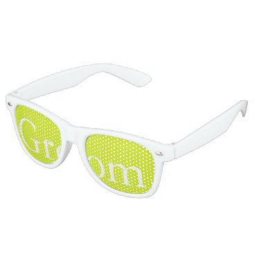 Beach Themed Lime Punch - Spring 2018 London Fashion Trends Retro Sunglasses